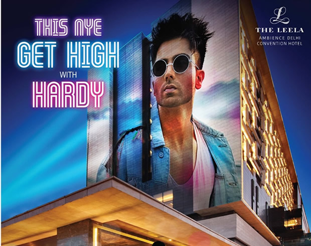 Leela Ambience Delhi New Year Party Hardy Sandhu Live